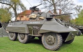 Обои США, войны, периода, бронеавтомобиль, «Грейхаунд», Второй, Greyhound