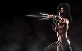 Обои Mileena, Милина, Mortal Kombat X, саи, Смертельная битва 10