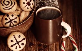 Обои Рождество, Новый год, cookies, sweets, праздник, Christmas, New Year