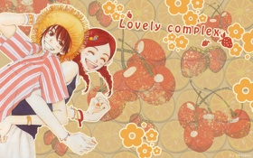 Картинка любовь, позитив, двое, Lovely Complex. love. risa. otani