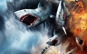 Картинка shark, teeth, sharknado