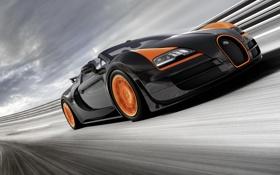 Обои Roadster, Bugatti, Veyron, бугатти, вейрон, Grand Sport, Vitesse