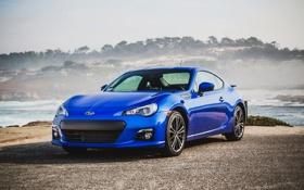 Обои Subaru, Автомобиль, Синий, БРЗ, BRZ, Wallpaper, Субару