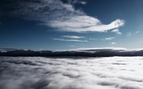 Обои небо, облака, фотография, пейзажи, небеса, высота, облако