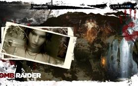 Картинка Square Enix, Lara Croft, LiVE SPACE studio, Tomb Raider 2013