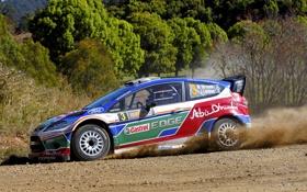 Обои Ford, Спорт, WRC, Rally, Ралли, Fiesta, Фиеста