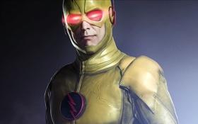 Обои Harrison Wells Yellow Flash, DC Com, TV Series, Warner Bros. Television, 2015, Season 1, Season