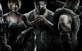 Обои Шестерни, Gears of War 3, Феникс, Маркус, войны 3