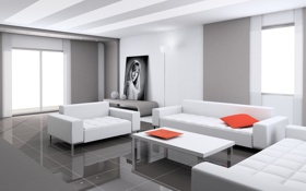 Обои стиль, стены, дома, комнаты, комфорт, дизнайн