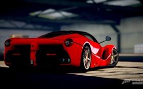 Обои Ferrari, Red, One, 360, Xbox, Game, LaFerrari