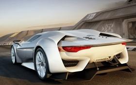 Картинка будущее, Машина, Citroen