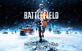 Картинка новый год, battlefield, christmas, батлфилд