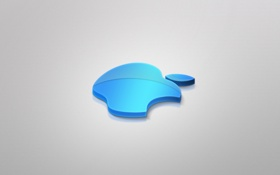 Обои Apple, blue, incorporated