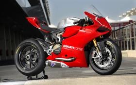 Картинка мотоцикл, ducati, дукати, panigale