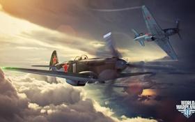 Обои самолет, пропеллер, aviation, авиа, MMO, Wargaming.net, World of Warplanes
