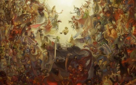 Картинка смерть, арт, демоны, shin megami tensei, облики, emi, shin megami tensei nocturne