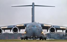 Картинка самолёт, стратегический, военно-транспортный, C-17, McDonnell Douglas, Globemaster III