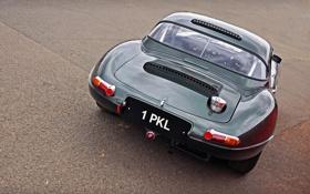 Картинка фото, Jaguar, Classic, классика, cars, auto, вид с зади