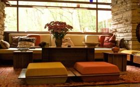 Обои дизайн, дом, стиль, интерьер, квартира, жилая комната, design lifestyle