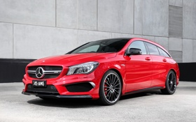 Обои Mercedes, мерседес, AMG, амг, Shooting Brake, AU-spec, CLA 45