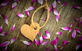 Обои любовь, цветы, бумага, фон, обои, настроения, сердце