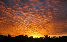 Обои Sunset, Australia, Suburban, Homes, Perth