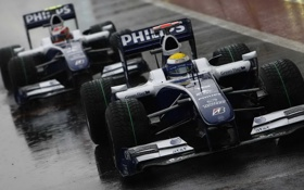 Обои 2009, williams, formula1