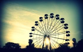 Обои лето, колесо, керчь
