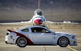 Картинка тюнинг, мустанг, истребитель, форд, Ford Mustang GT