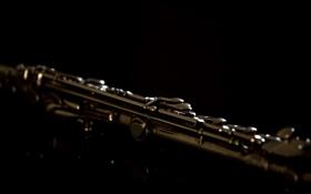 Обои музыка, инструмент, флейта
