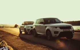 Обои машина, авто, фотограф, перед, Range Rover, auto, photography