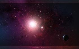 Обои взрыв, звезда, сверхновая
