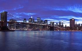 Обои нью-йорк, города, пейзажи, америка, сша, вода