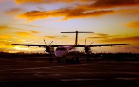 Обои авиация, самолёт, аэродром