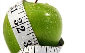 Обои вода, капли, apple, яблоко, water, drops, диета