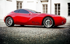 Обои Concept, IED, Red Ride of the Hour, Cisitalia 202