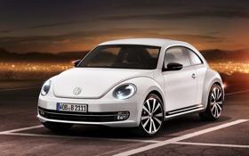 Картинка car, concept, volkswagen, 2012, beetle, жучок