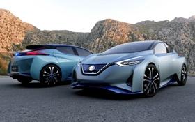 Обои Concept, концепт, Nissan, ниссан, IDS