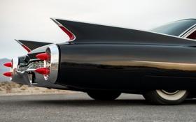 Обои дизайн, стиль, фары, Cadillac, 1960, передок