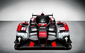 Обои Audi, e-tron, LMP, R18, ауди, суперкар, фон