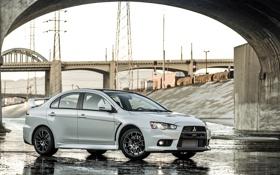 Обои Mitsubishi, Lancer, Evolution, Evo, лансер, мицубиси, 2015