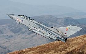 Картинка истребитель, бомбардировщик, пилоты, Panavia Tornado, GR4