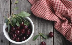 Картинка вишня, ягоды, черешня
