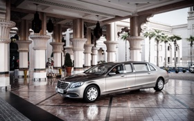Картинка Mercedes-Benz, Maybach, мерседес, майбах, Pullman, VV222