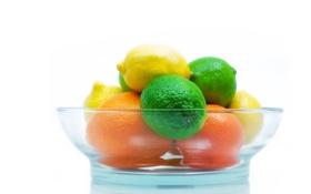 Обои лайм, фрукты, лимон, цитрус, апельсин