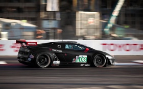 Обои lamborghini gallardo, ALMS Qualifying Long Beach, tommy milner