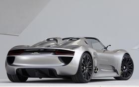 Обои car, машина, Concept, Porsche, Spyder, 918, wallpapers