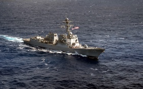 Обои море, оружие, guided-missile destroyer, USS Stockdale (DDG 106), The Arleigh Burke-class