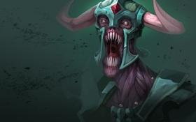 Обои skull, armor, Dota 2, bones, helmet, Undying, living dead