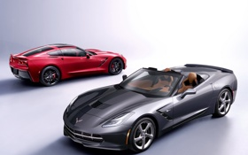 Обои Corvette, Корветт, Chevrolet